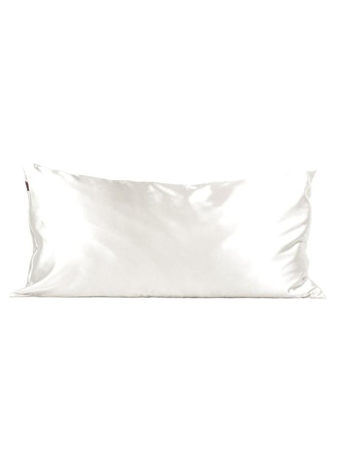 Satin Pillowcase King- Ivory