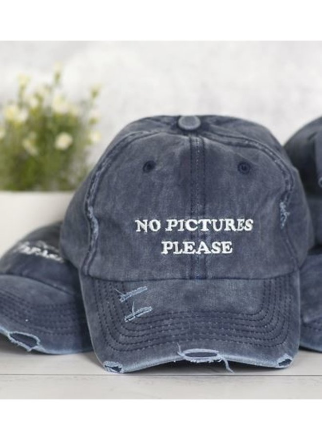 No Pictures Please Hat