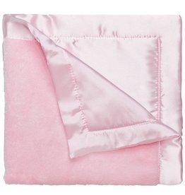 Elegant Baby Coral Fleece Blankie-Pastel Pink