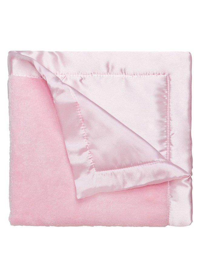 Coral Fleece Blankie-Pastel Pink