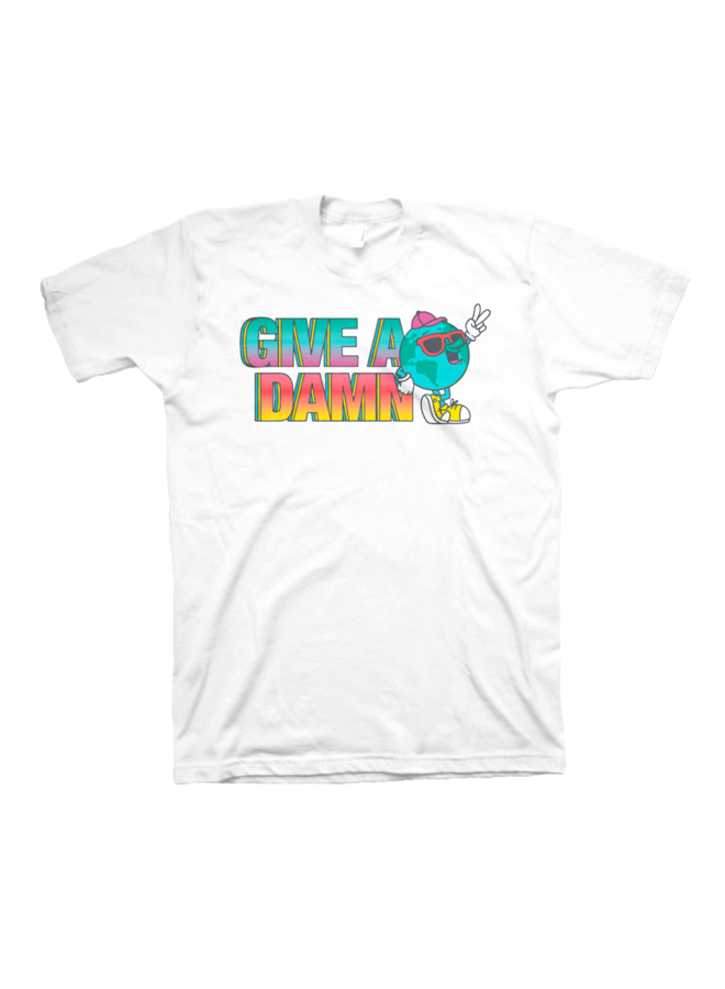 Give A Damn Tee Shirt - XL