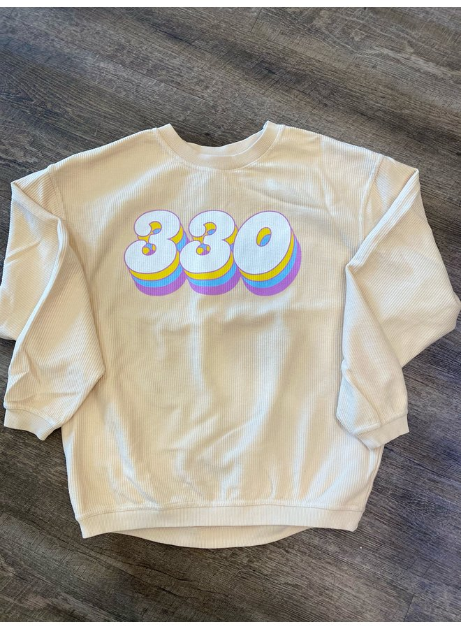 Retro 330 Corded Sweatshirt