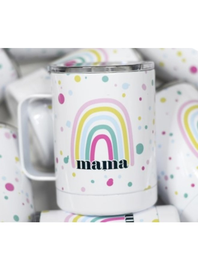 Mama Rainbow Travel Cup