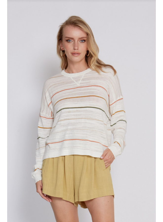 Angelica Striped Sweater