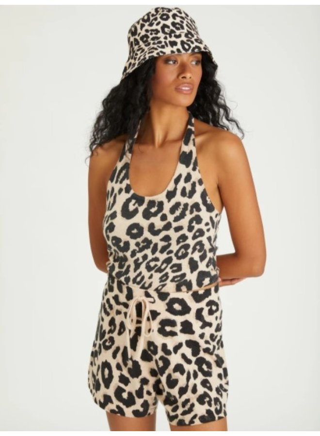 Essential Pull On Short- Leopard