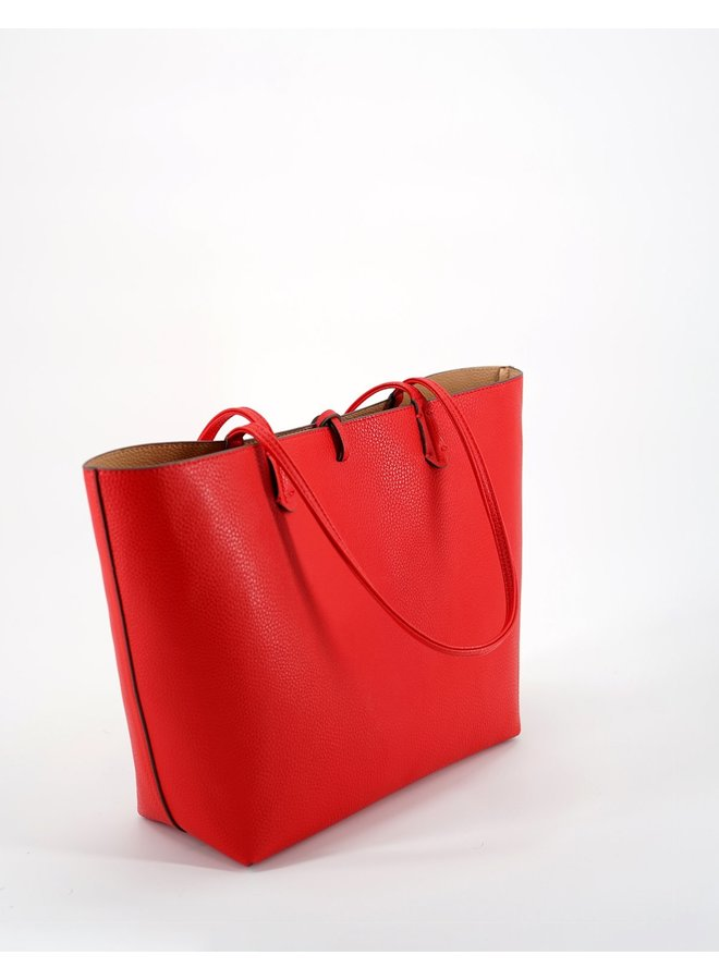 Departure Tote Tropic Red/Nude