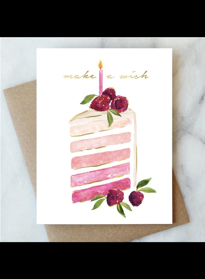 Birthday Slice Card