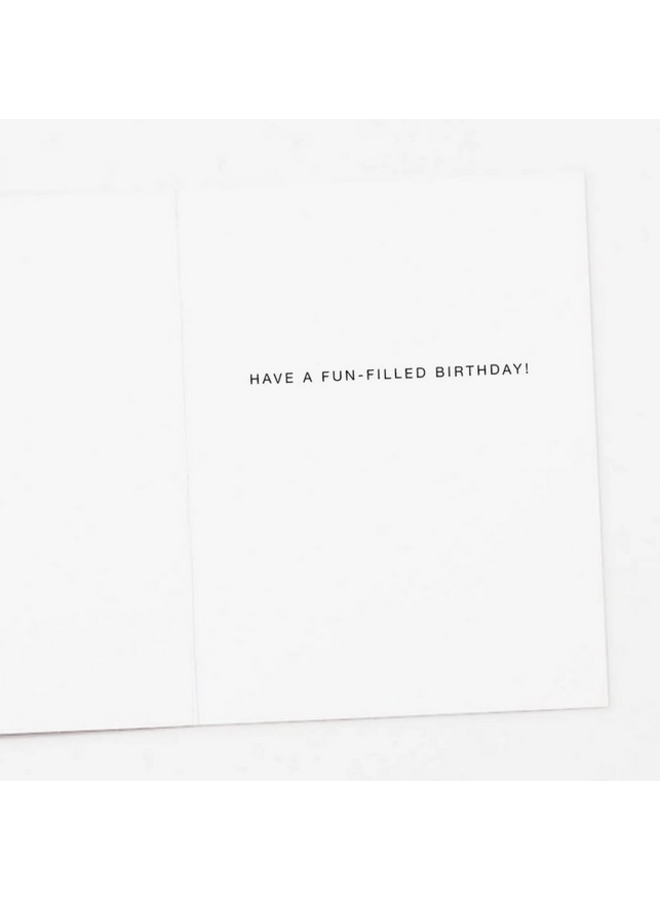 Something About Cake Birthday Card