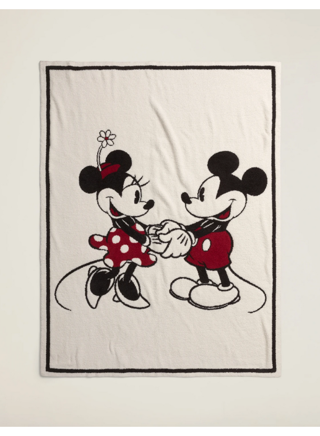 CozyChic Classic Disney Mickey & Minnie Mouse Blanket