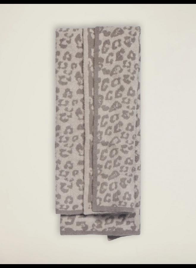 CozyChic Barefoot in the Wild Throw- Warm Gray
