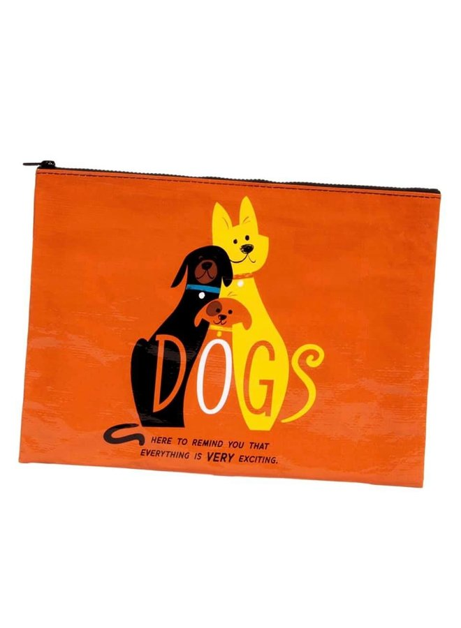 Dogs Jumbo Pouch