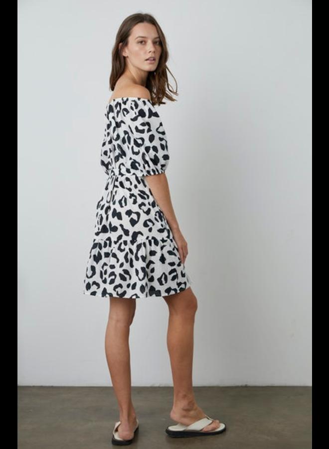 Eliah04 Leopard Dress