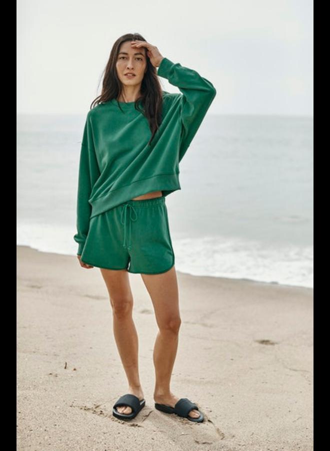 Ajia04 Green Sweatshirt