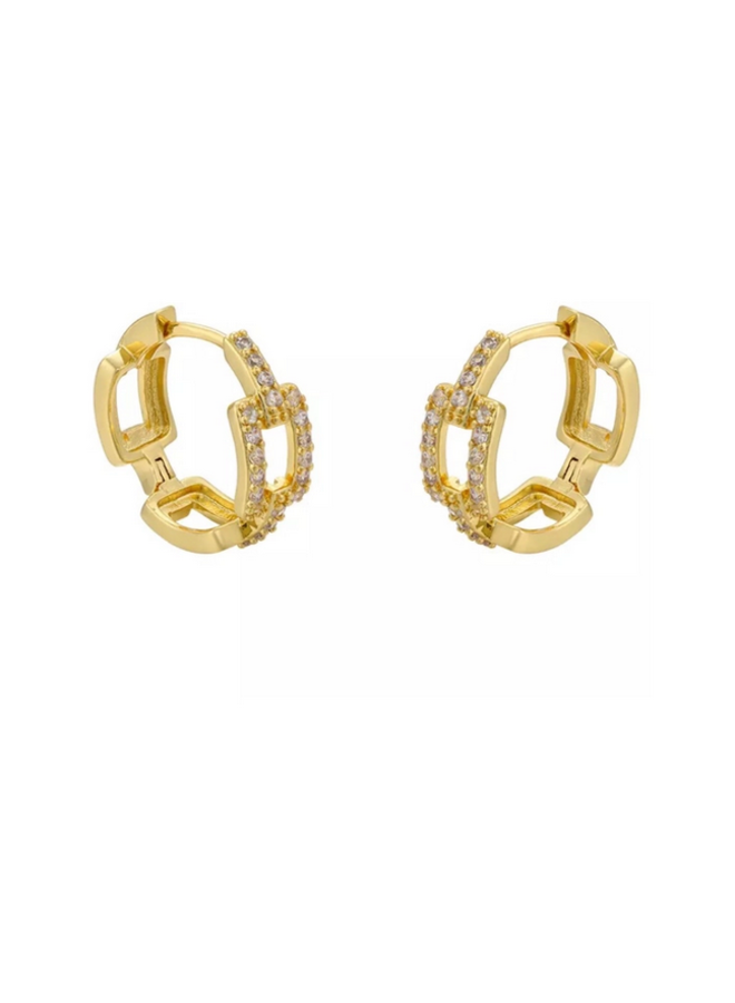 Dion Chain Link Hoops