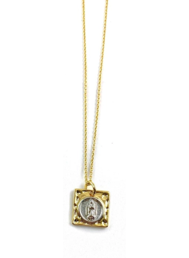 Frankie Gold Necklaces- Gold Mary