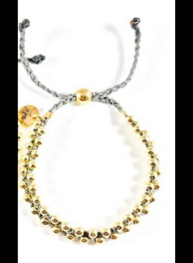 Beaded Braid Bracelet -