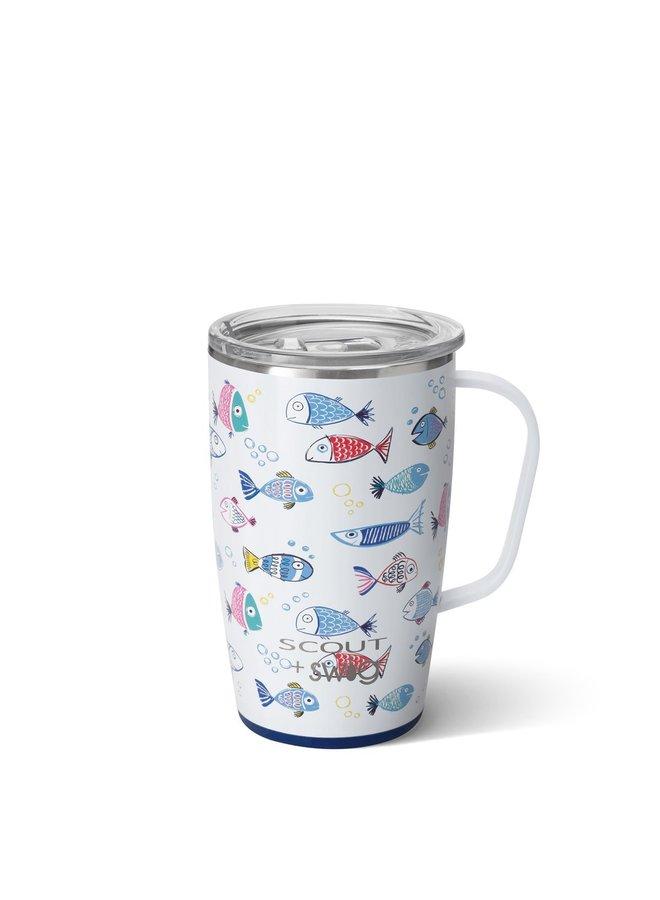18oz  Travel Mug with Handle- SCOUT Sofishticated