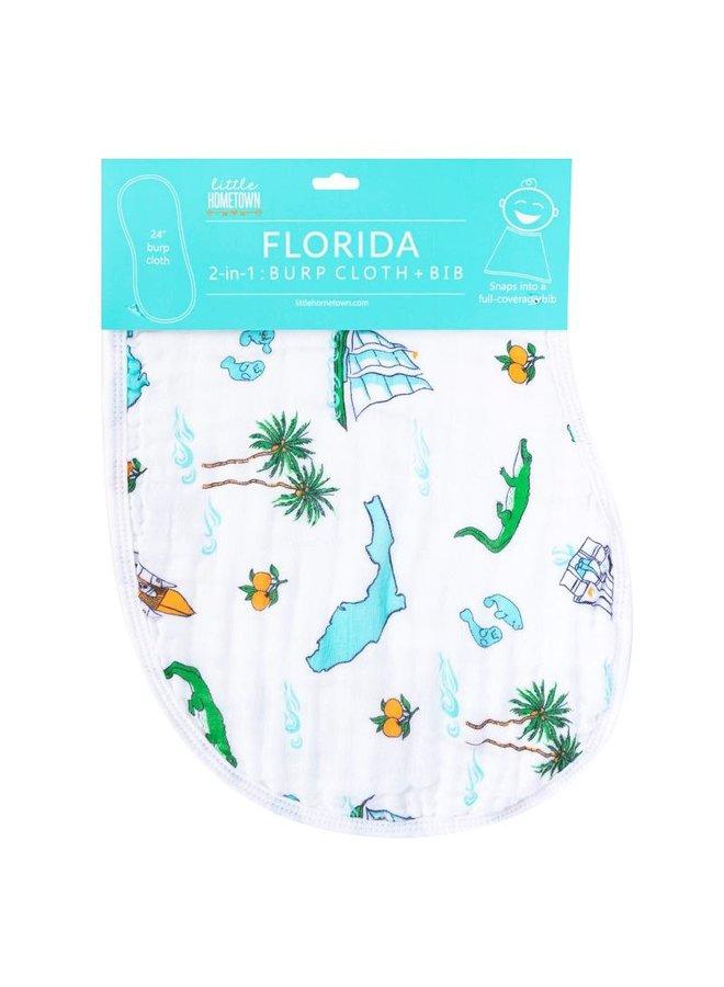 Florida Baby Burp/Bib Combo