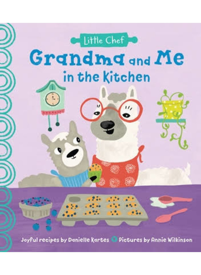 Grandma and Me In The Kitchen Book