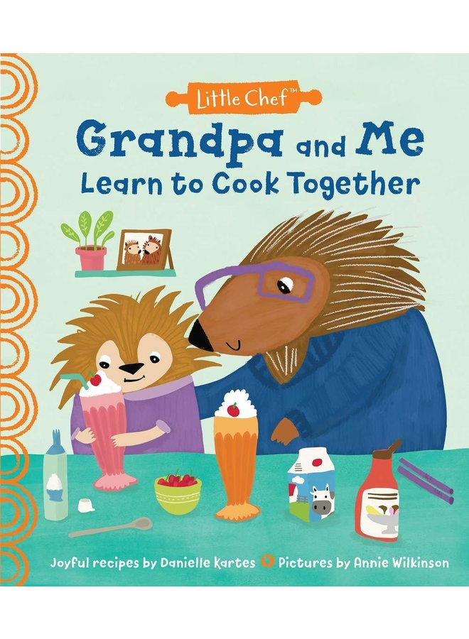 Grandpa and Me Learn To Cook Together Book