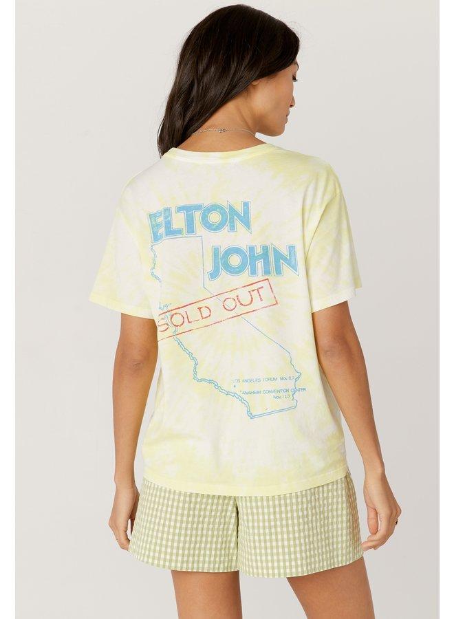 Elton John Tour 1980 Boyfriend Tee