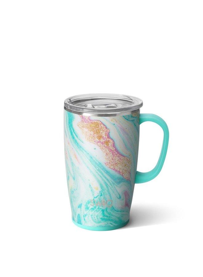 18oz Travel Mug with Handle - Wanderlust