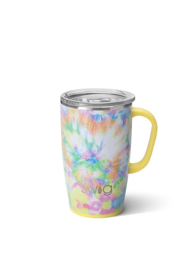 18oz  Travel Mug with Handle - You Glow Girl