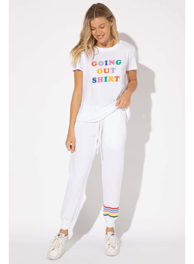 Going Out Shirt Multi Tee