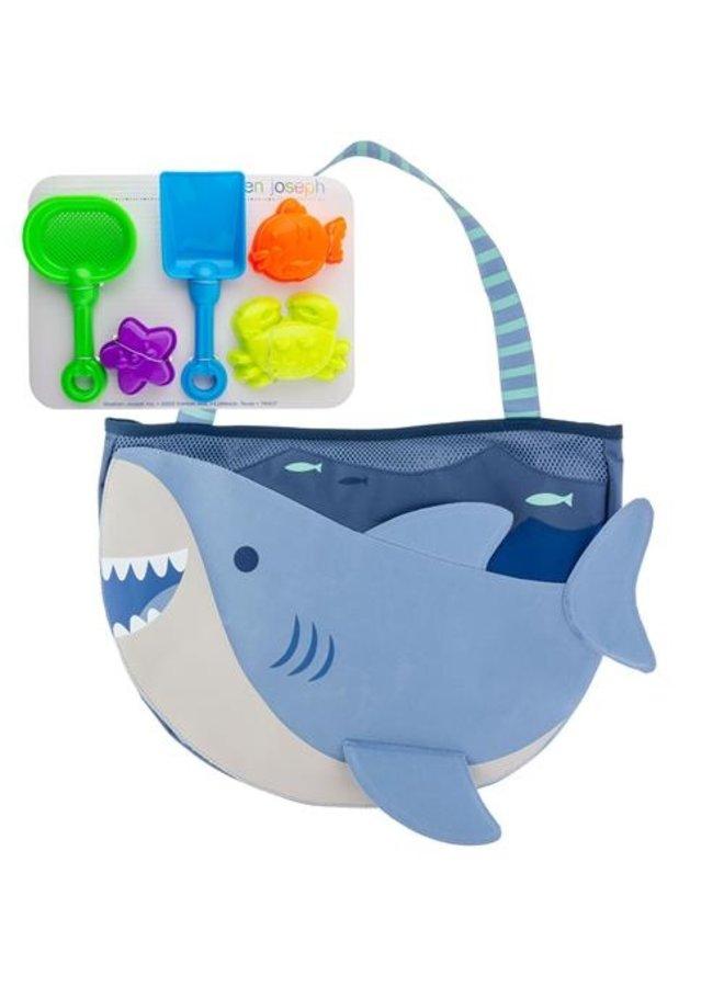 Beach Tote w/ Toys- SHark