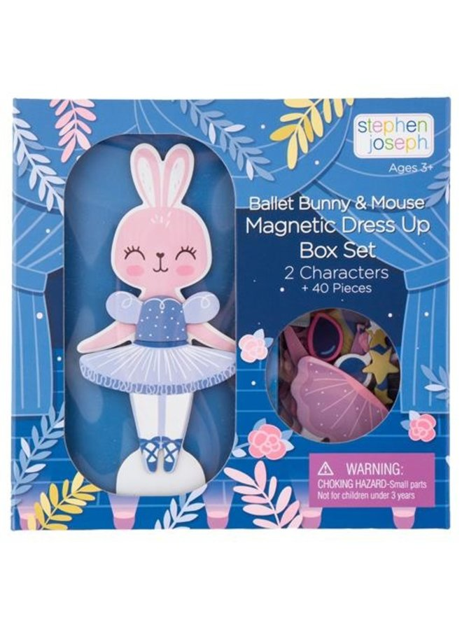Magnetic Dress Up Doll- Bunny/ Mouse