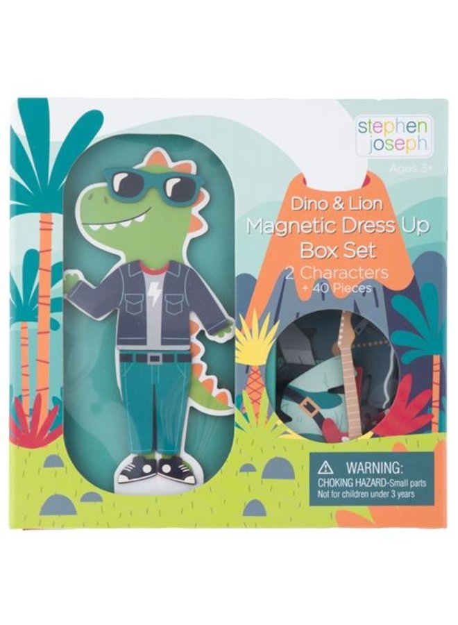 Magnetic Dress Up Doll- Dino/Lino