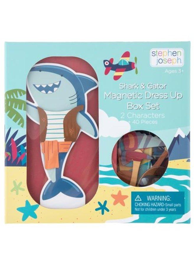 Magnetic Dress Up Doll- Shark/Gator