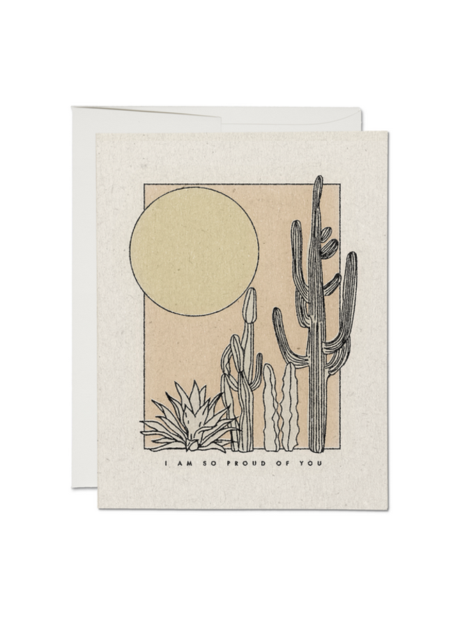 Desert Sunrise Card