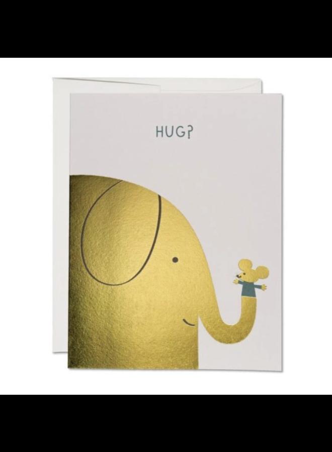 Elephant Hugs Card