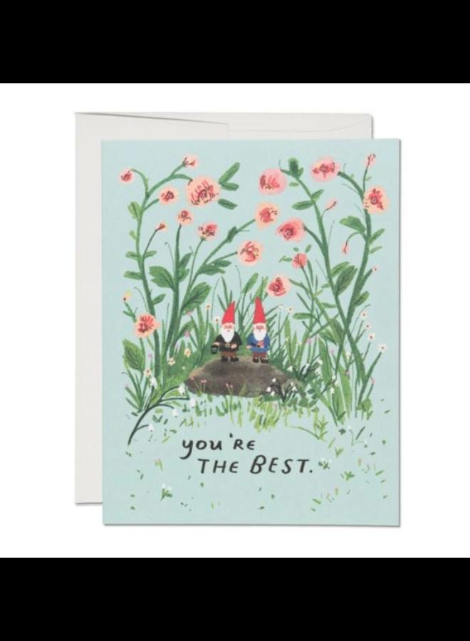 Garden Gnomes Card