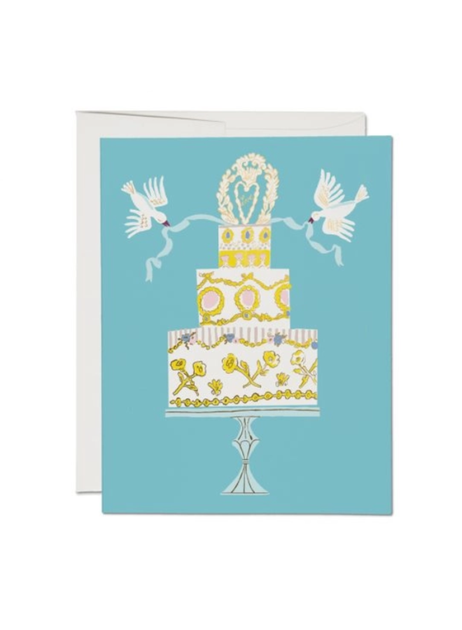 Love Cake Wedding Card