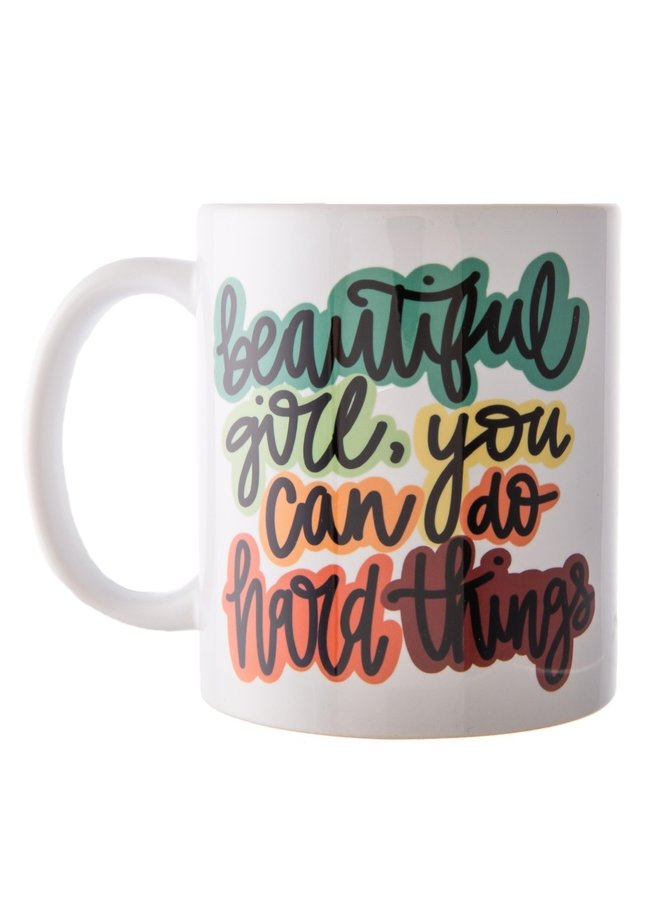 Beautiful Girl Ceramic Mug