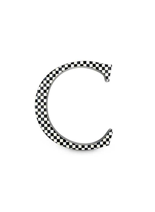 Courtly Check Letter - C