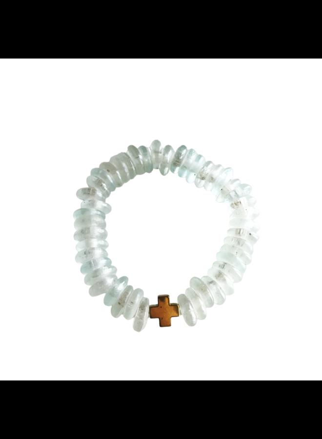 Clear Ice Joy Bracelet