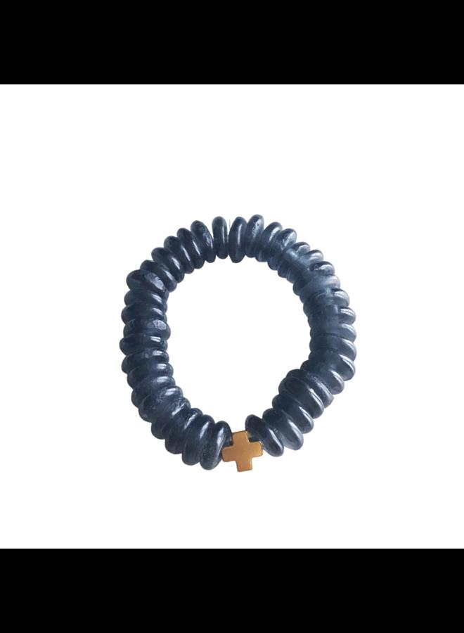 Charcoal Joy Bracelet