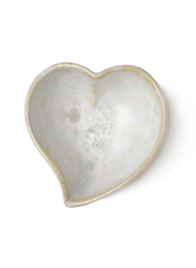 Crystalline Twist Heart Bowl - Candent