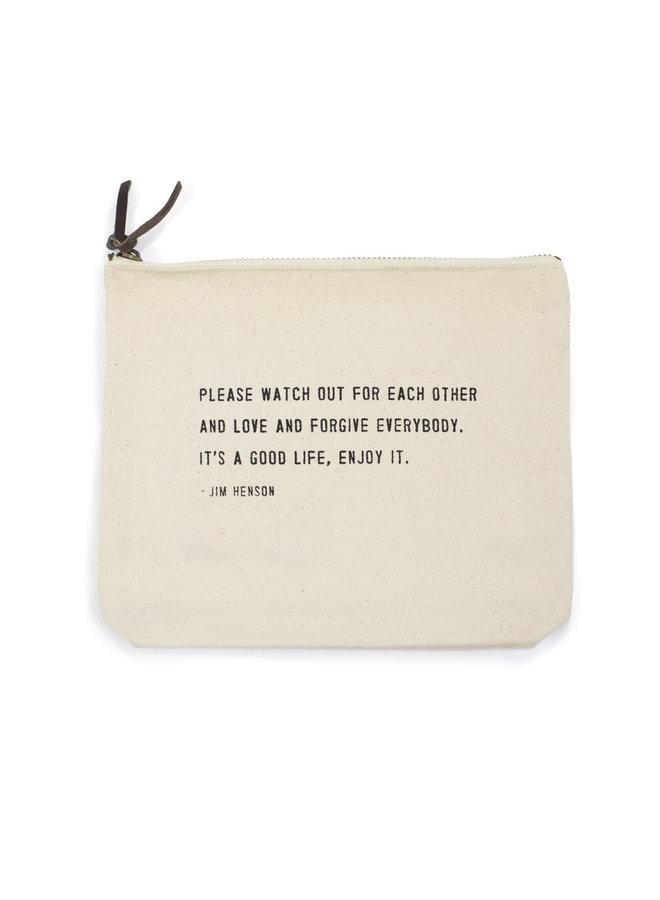 Jim Henson Canvas Bag