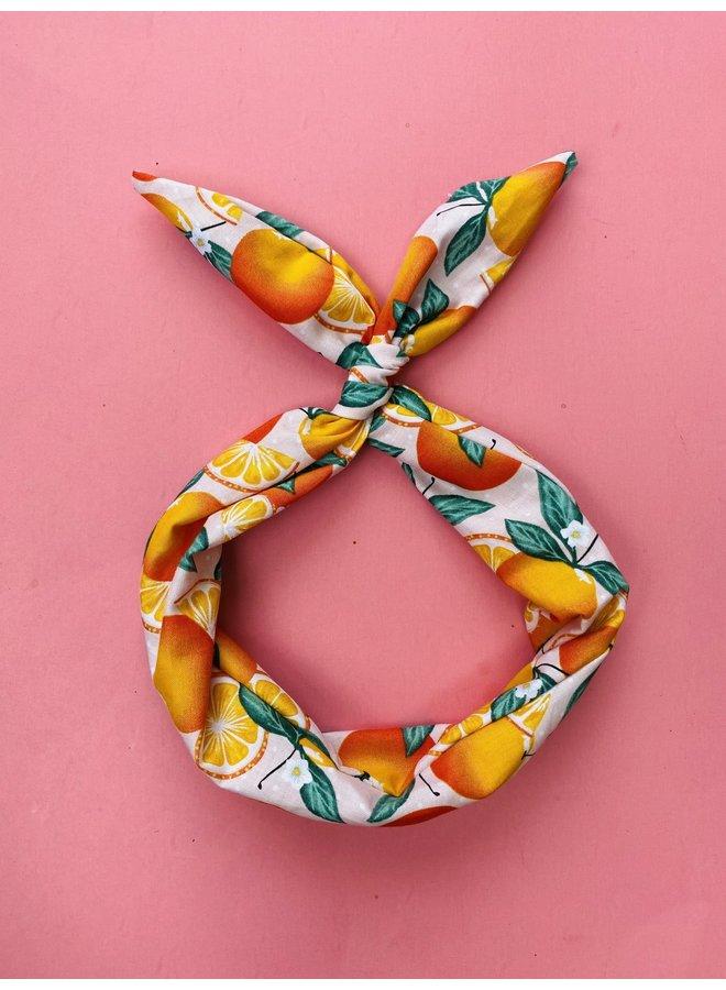 Byrd Headband - Tangerines