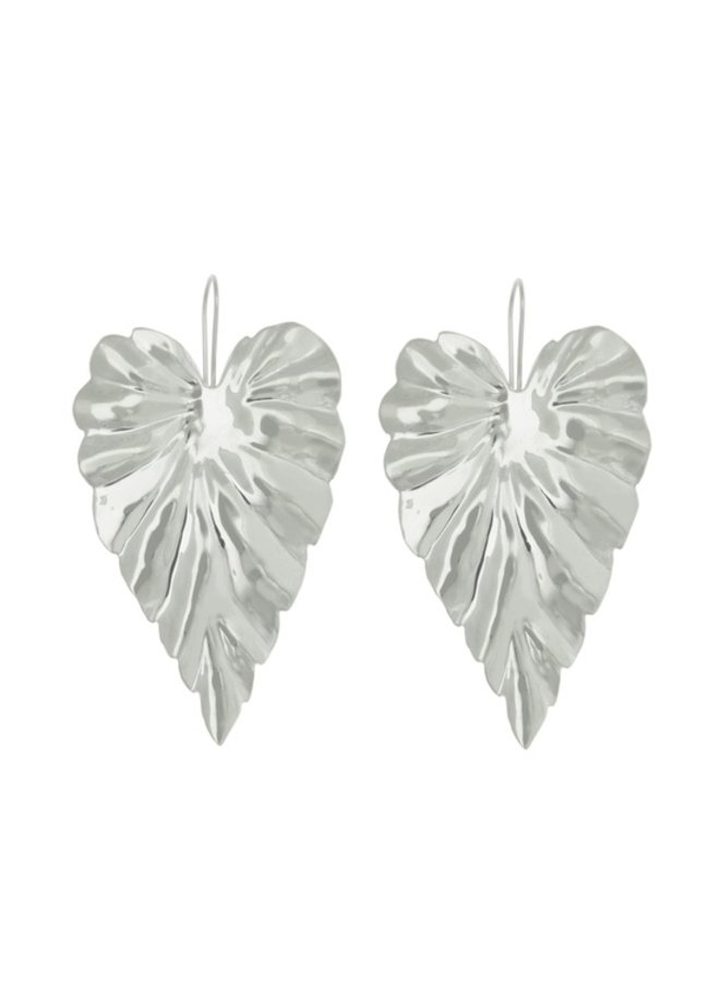 Hoja Earrings Small - Sterling Silver