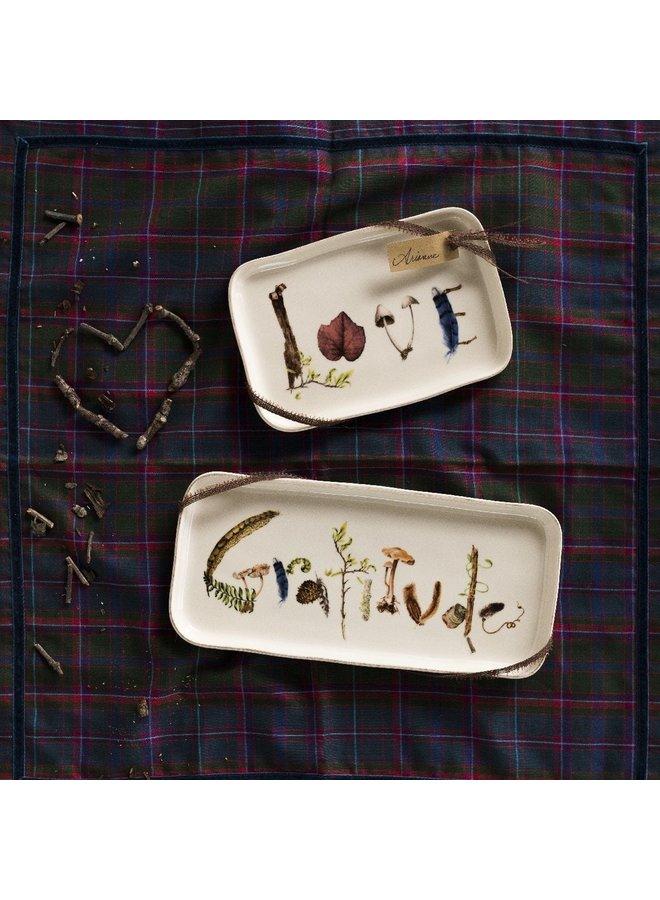 "Forest Walk 10.5"" Gratitude Gift Tray"