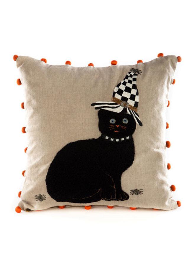 Cat in Hat Pillow