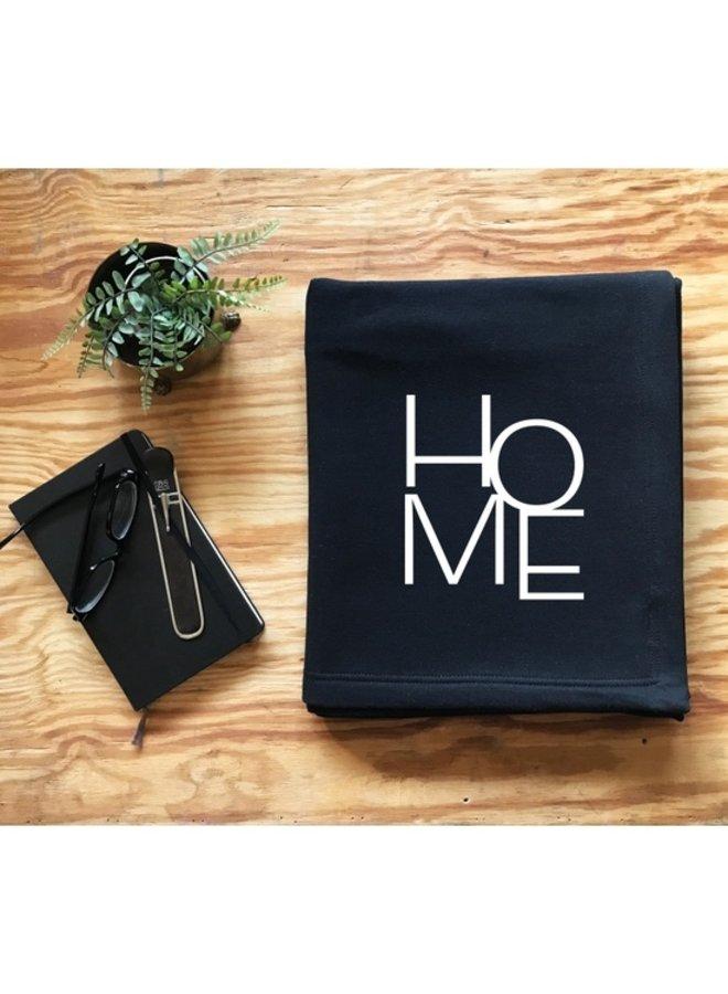 Home Sweatshirt Throw Blanket