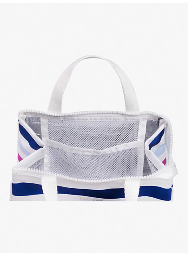 Lunch Tote- Candy Stripe