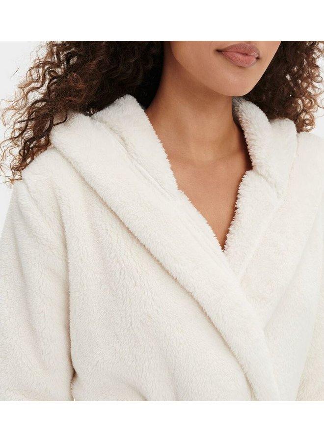 Aarti Plush Robe - Cream