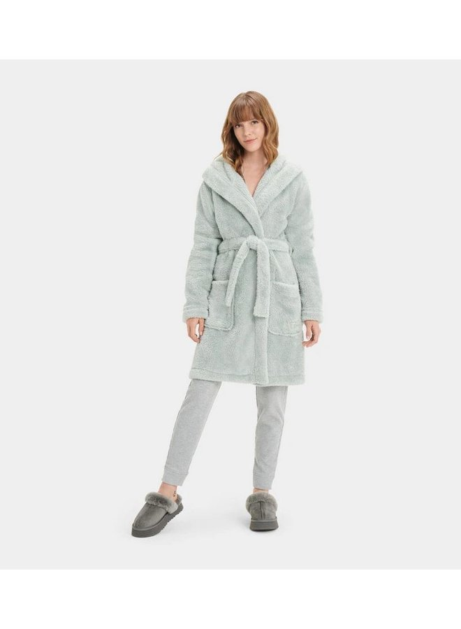 Aarti Plush Robe - Sidewalk